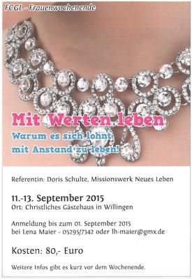 FrauenWE-2015